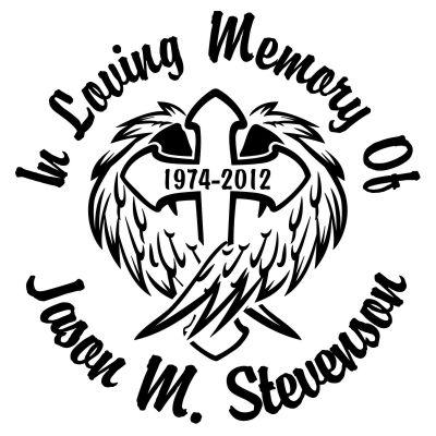 In Loving Memory Car Decals >> Cross With Angel Wings Custom Memorial Die Cut Vinyl Car Decal