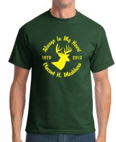 Adult Unisex Style Deer Hunter T-shirt Starting At $21.99 each