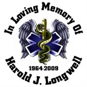 EMS Full Color - Designer Series Circle Memorial Decal