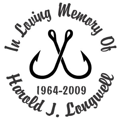 In Loving Memory Car Decals >> Fishing Hooks