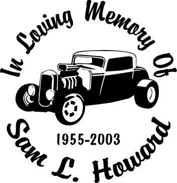 In Loving Memory Car Decals >> Hot Rod Coupe