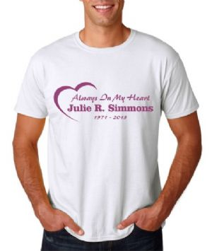 Men's Style Always In My Heart T-shirt Starting At $21.99 each