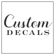 Create Your Own Custom Handle Decals