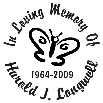 Butterfly 1 - Designer Series Circle Memorial Decal