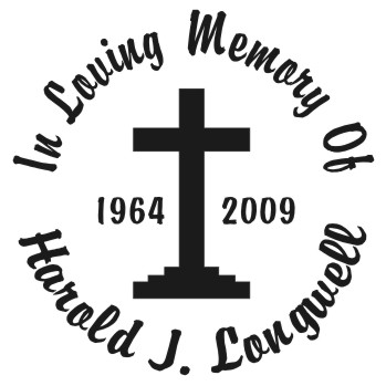 Religious - In Loving Memory Car Window Decals