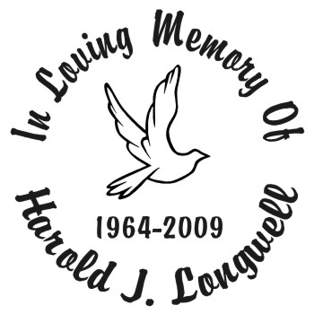 Dove - Designer Series Circle Memorial Decal