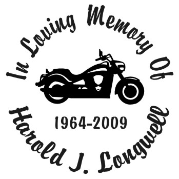 Street Bike 2 - Designer Series Circle Memorial Decal