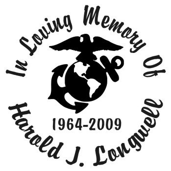 Marines - Designer Series Circle Memorial Decal