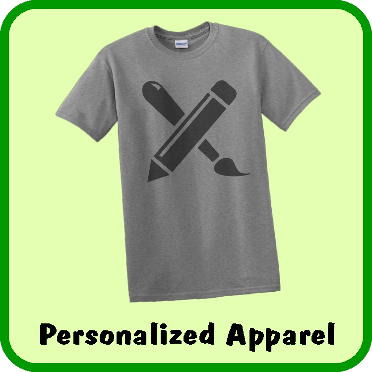 Create your own wearable apparel online, personalized with your own words and pictures or company logo. Make Shirts, Polos, Hoodies, Tanks, and Sweatpants.