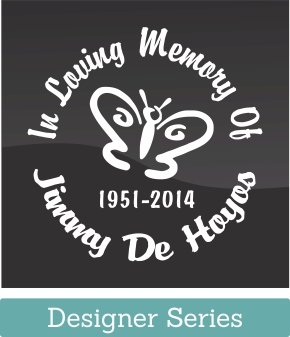 The Designer Series In Loving Memory Vinyl Decal is our most popular memorial product with many graphic icons to express your loved ones personality. Memorializing them in loving vinyl